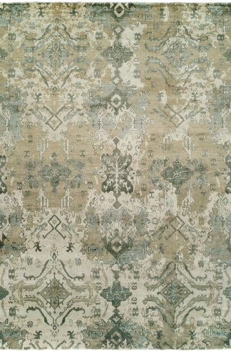 Milan Collection 4x6 Linen Transitional Area Rug