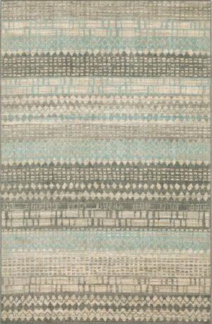 Euphoria Collection 5X8 Grey Area Rug