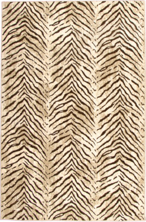 Contemporary 5X8 Synthetic Area Rug