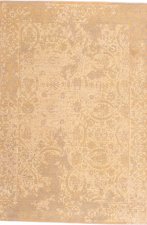 Transitional Chinese 5X8 Wool Area Rug