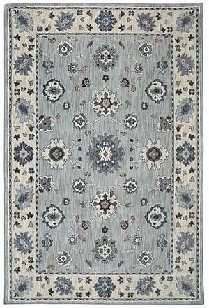 Euphoria Collection 5X8 Gray Area Rug