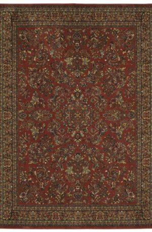 Persian Bazaar 3x5 Garnet Traditional Area Rug