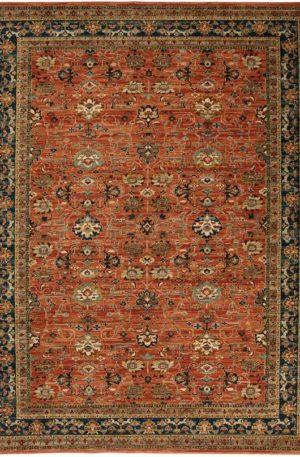 Persian Bazaar 3x5 Spice Traditional Area Rug