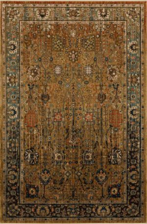 Persian Bazaar 3x5 Beige Traditional Area Rug