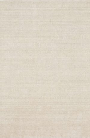 Zodiac Collection 5x8 Ivory Contemporary Area Rug