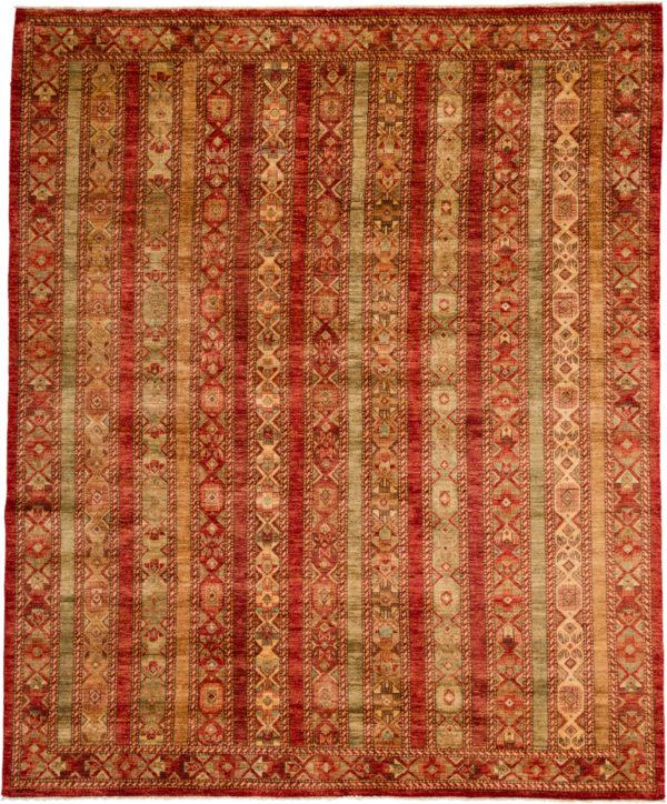 Pakistan Kazak 8X10 Red Wool Area Rug