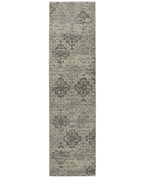 Transitional Runner Multi Color Area Rug