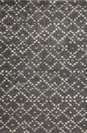 Contemporary 4X6 Grey Wool Area Rug
