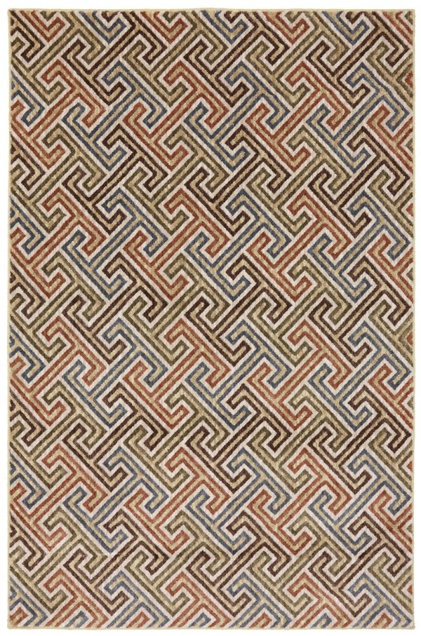 Contemporary 8X10 Synthetic Area Rug