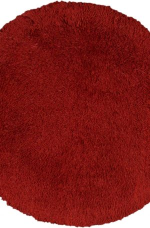 Chinese 4X6 Red Synthetic Area Rug