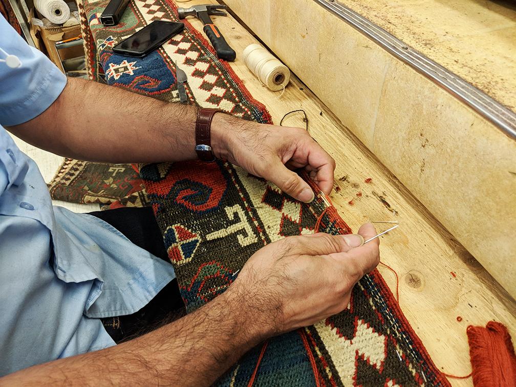 Rug Repair Binding