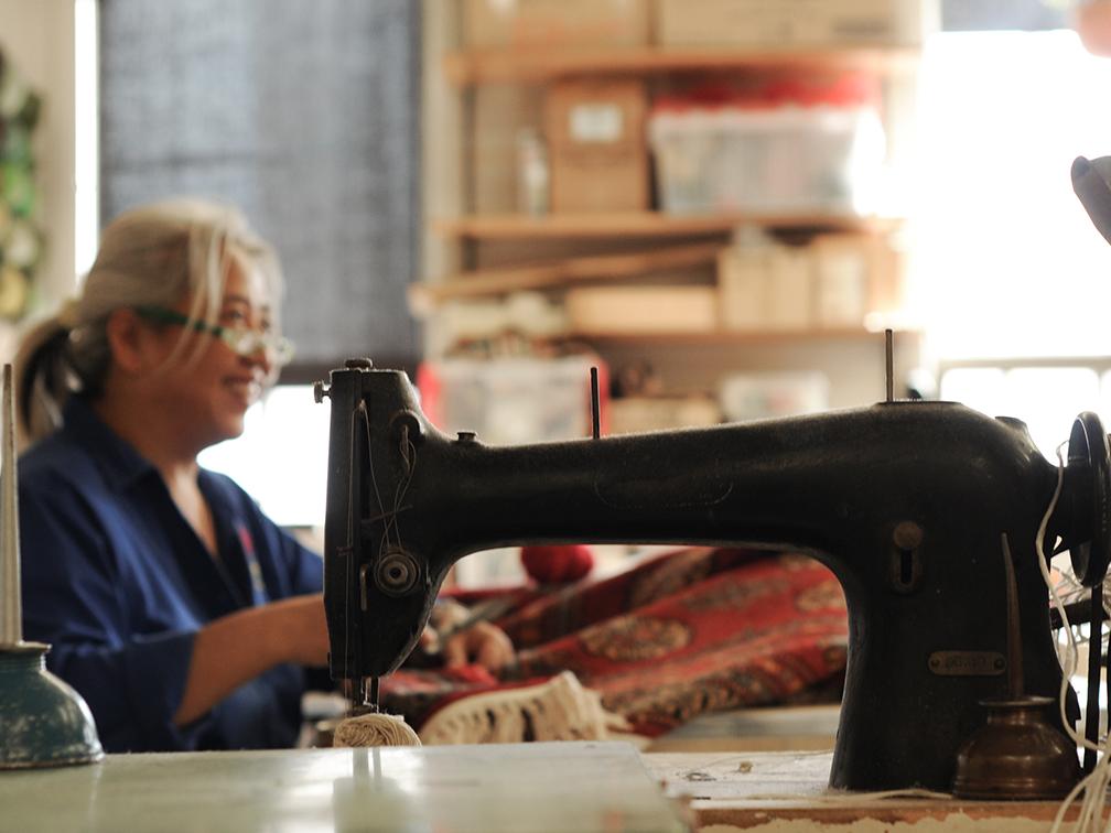 Rug Repair Sewing Machine