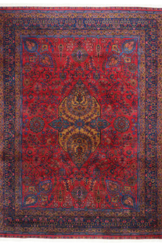 Persian Antique Kermanshah 9 x 12 Area Rug