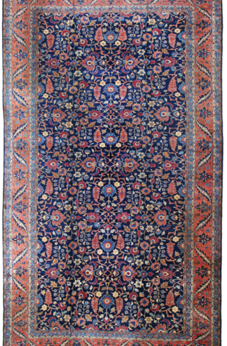 Persian Tabriz Antique Area Rug