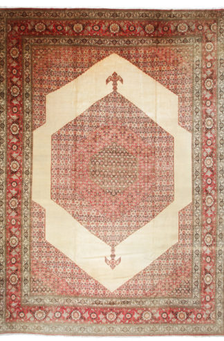 Antique Haji Jalili Persian Tabriz 15' x 21' Area Rug