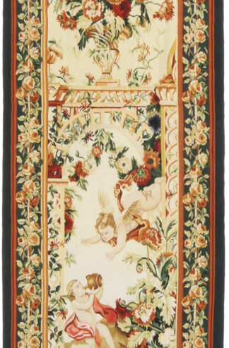 Tapestry Fine 2 x 6 Green Ivory