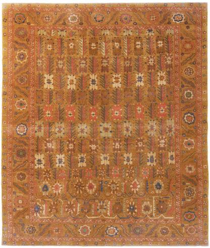 Turkish Tabriz Design 8x10 Area Rug