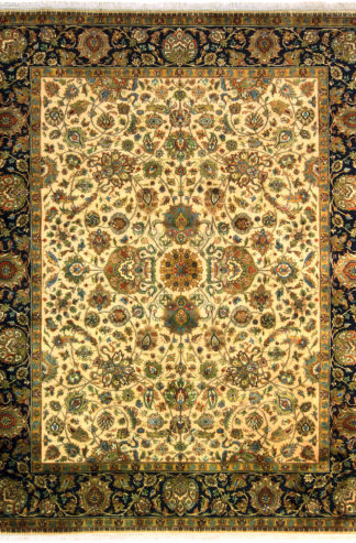 Hand Knotted Jaipur 8x10 Area Rug