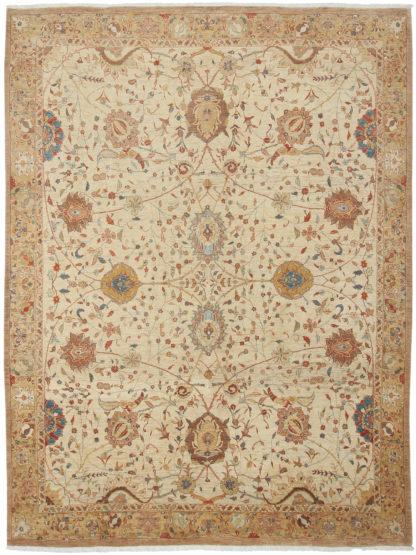 Persian Tabriz 8' x 10' Wool Area Rug