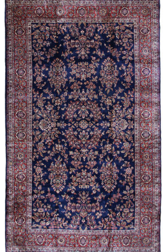 Sarouk Design Turkish 11′ x 18′ Oversize Wool Area Rug