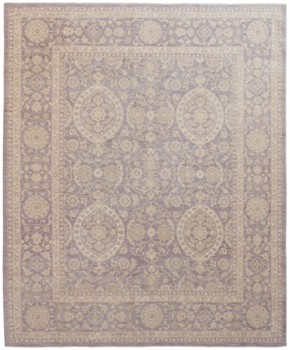 Afghan Ziegler Design 8' x 10' Wool Area Rug