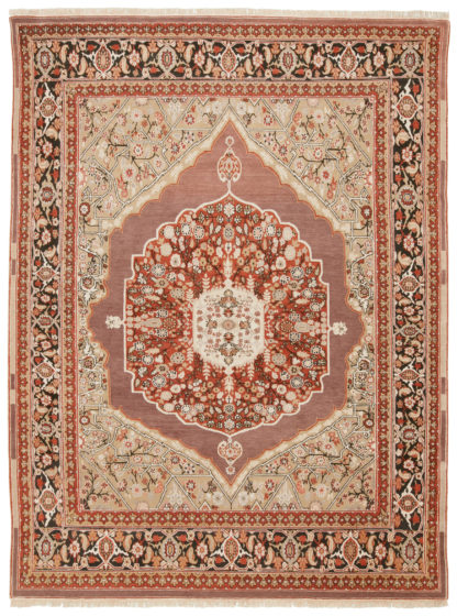 Tabriz Design Tibet 9' x 12' Wool Area Rug
