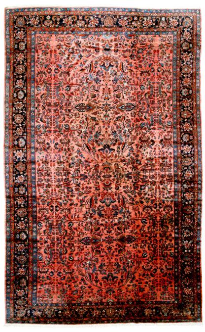 Antique Persian Lilihan c1920 13' x 21' Oversize Wool Area Rug