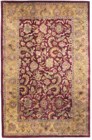 Wool Tufted Jaipur 5' x 8' Area Rug