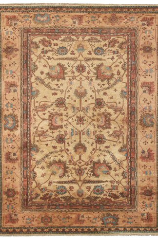Oushak Design Pakistan 9x12 Wool Area Rug