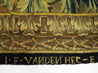 Rare Late 17th Century Brussels Historical Tapestry: Alexander and Porus