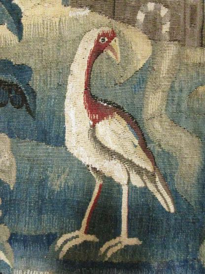 18th Century Aubusson 6' x 6' Verdure Landscape Tapestry