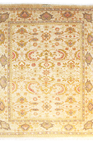 Persian Sultan Abad 8'x10' Yellow Ivory Area Rug