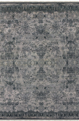 Pearl Transitional 6'x9' Grey Area Rug