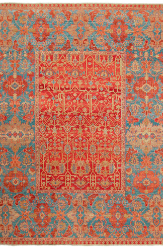 Heriz Design Turkey 10' x 12' Wool Area Rug