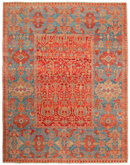 Heriz Design Turkey 10' x 12' Wool Area Rug