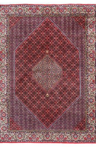 Persian Bidjar Extra Fine 8x11 Red Blue Wool Area Rug