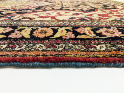 Antique Persian Isfahan 4x7 Area Rug