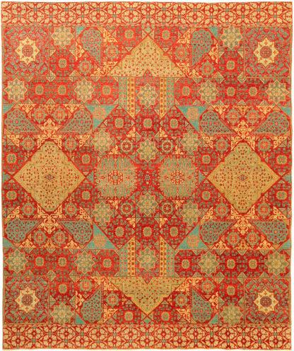 Mamluk Design 6x8 Wool Area Rug