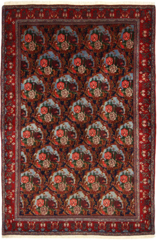 Persian Senneh Hand Knotted Area Rug