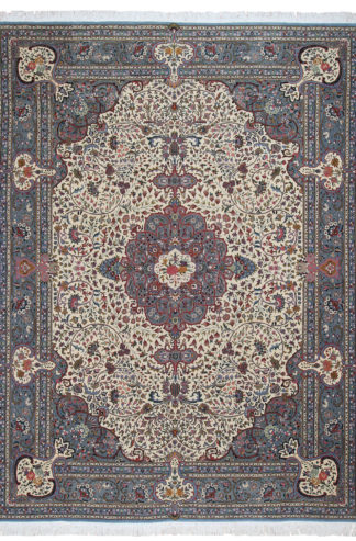 "Hand Knotted Tabriz Design 9'8"" x 13'4"" Area Rug"