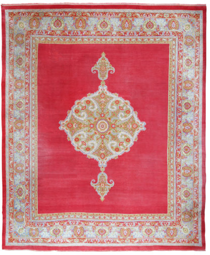Turkish Oushak Antique 10' x 14' Wool Area Rug