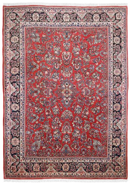 Persian Sarouk 10' x 14' Wool Area Rug