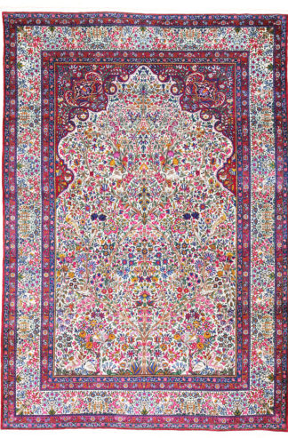 Persian Kerman Ravar 10' x 14' Directional Area Rug