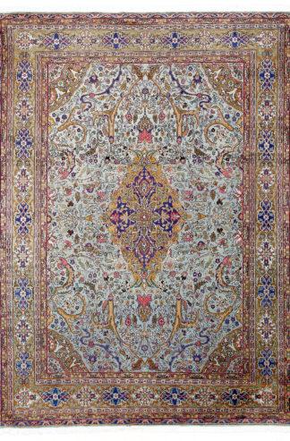 Indo-Persian Tabriz Design 9'x12' Wool Area Rug