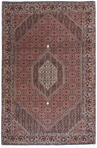 Persian Bidjar 7x10 Navy Blue Area Rug