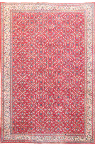 Semi-Antique Kayseri 7x11 Red Wool Area Rug