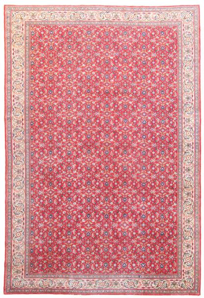 Semi-Antique Kayseri 7x11 Red Wool Area Rug