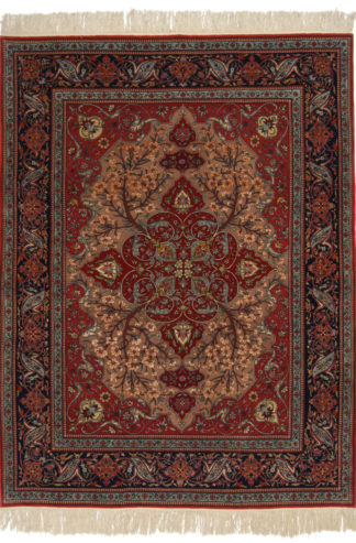 Sino-Persian Kashan 6x8 Extra-Fine Area Rug
