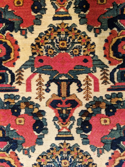 Persian Sirjan c1935 5x6 Wool Area Rug