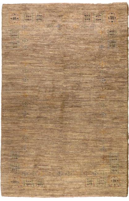 Persian Gabbeh 5x7 Beige Area Rug